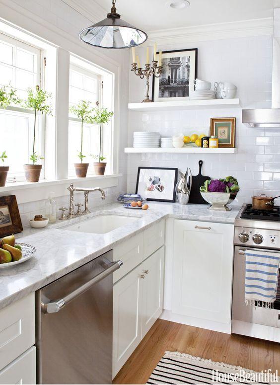 Best Decoração De Cozinha Pequena Simples E Barata Designs De 400 x 300