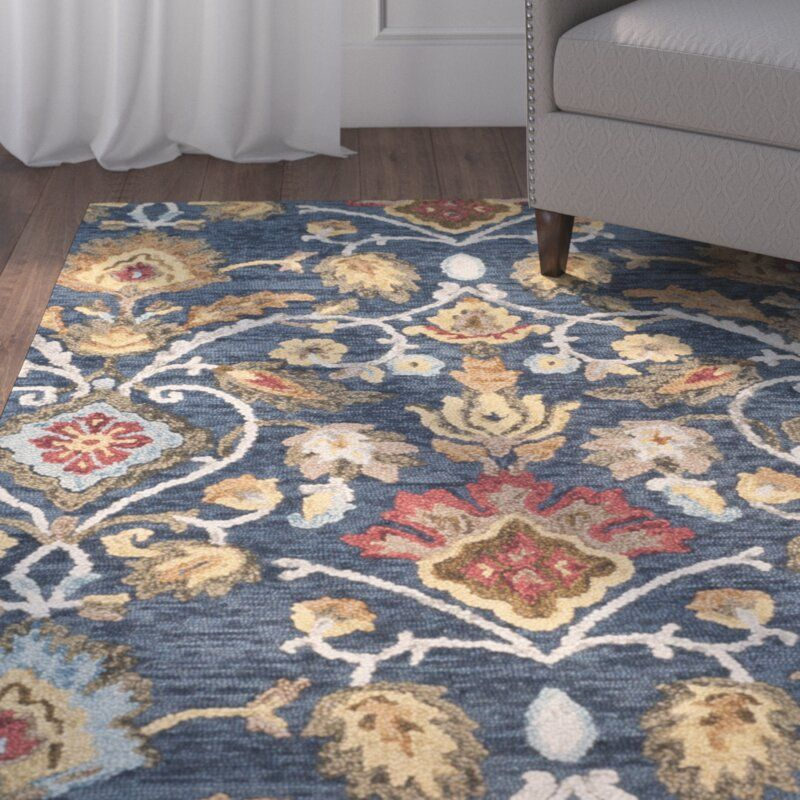 Walden Hand Tufted Wool Green Area Rug Reviews Birch Lane Area Rugs Rugs On Carpet Rugs