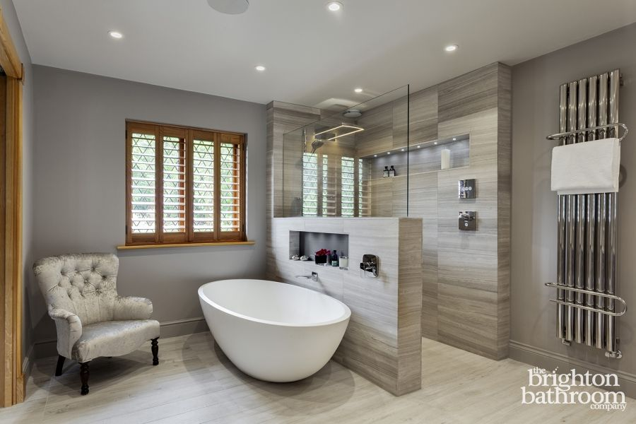 stunning master wetroom with walk through dressing room designed