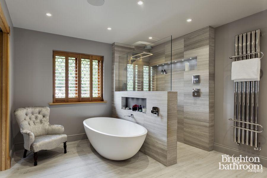 Stunning Master Wetroom With Walk Through Dressing Room Designed Stunning Bathroom Design Company