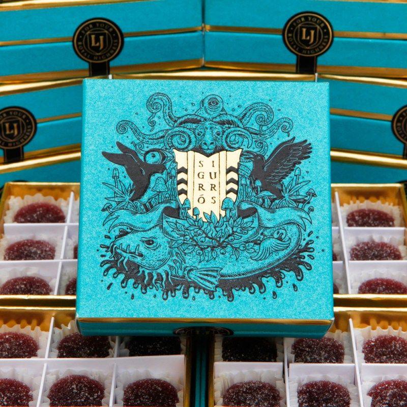 Sigur Rós and Lord Jones Sigurberry Gumdrops