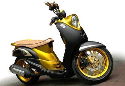 Foto Modifikasi Motor Yamaha Mio Fino Sepeda Mobil Motor