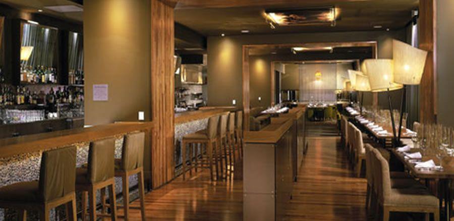 Luxury Modern Americano Restaurant Interior Design Of Hotel Vitale San Francisco