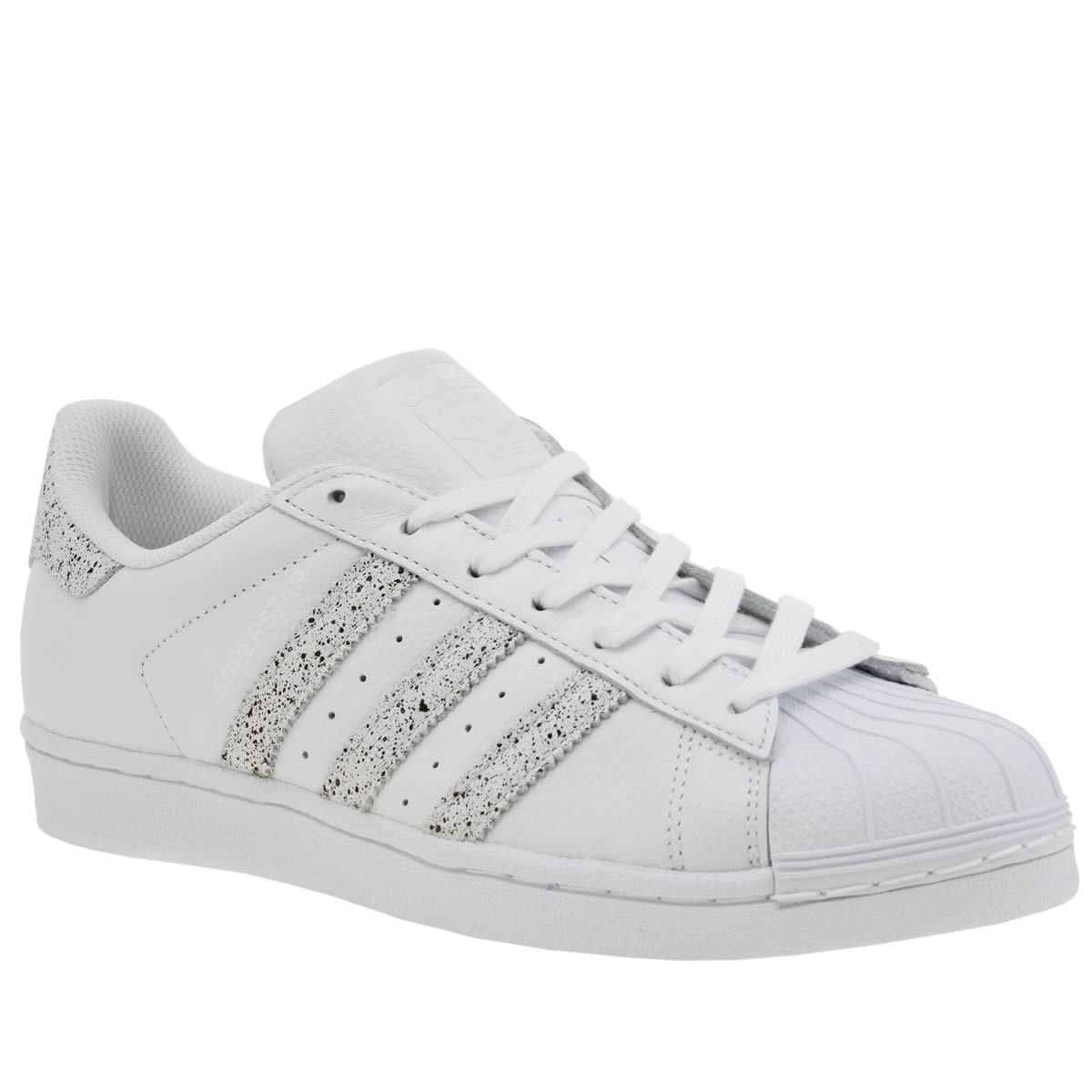 white \u0026 beige superstar country pack, part of the womens adidas trainers  range available at schuh
