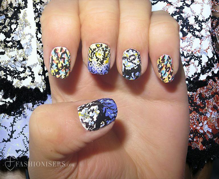 Nail Art Designs Inspired From Spring 2015 Runway   Nail designs ...