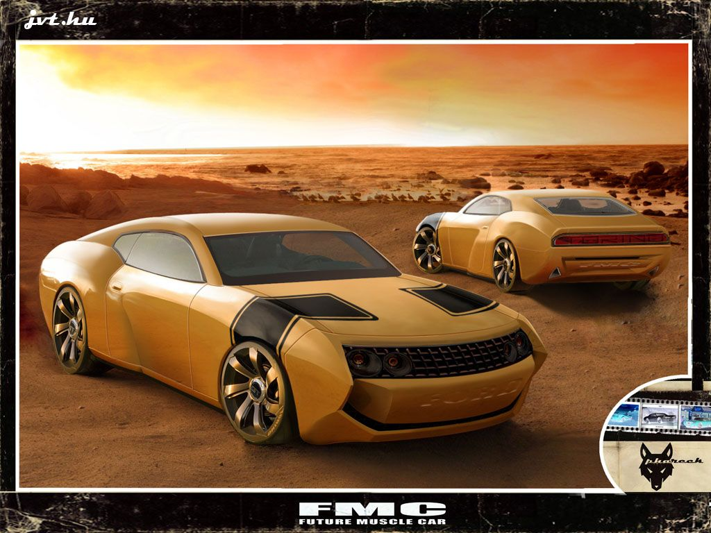 Future Muscle Car Concept - Ford Torino