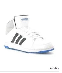 Adidas Patike Hoops Vs Mid Sneakers White Sneakers Sneakers White Adidas Sneakers