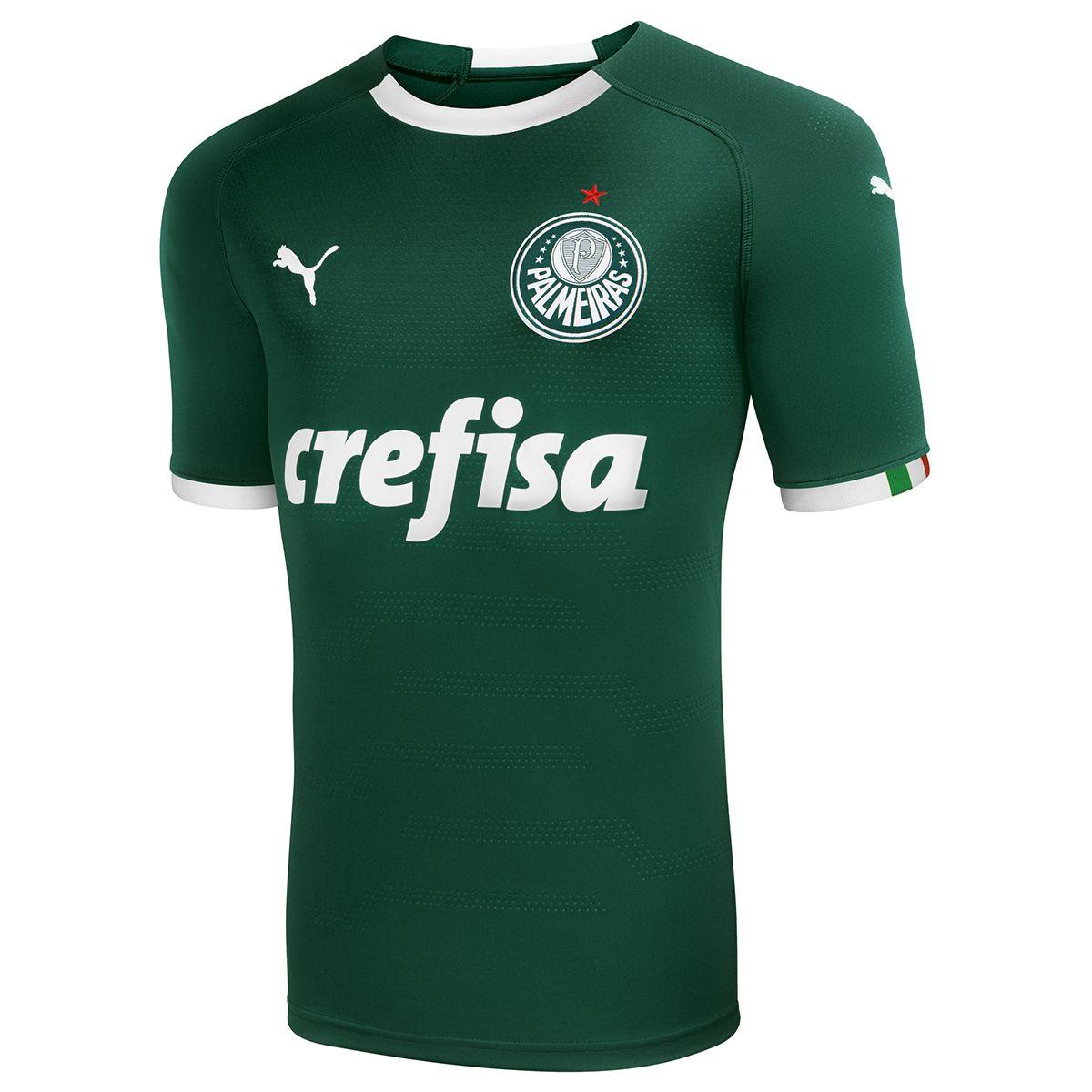 94637f1645 Camisa Adidas Palmeiras III 15 16 s nº Juvenil - Prata+Verde ...