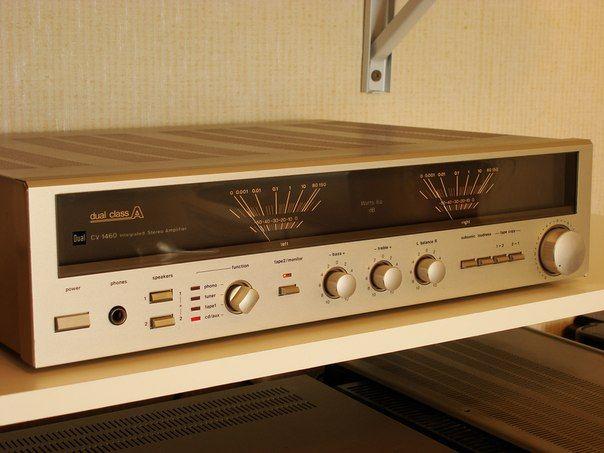 1983 Dual Cv 1460 Amplificateur Audio Amplificateur De Son Audio