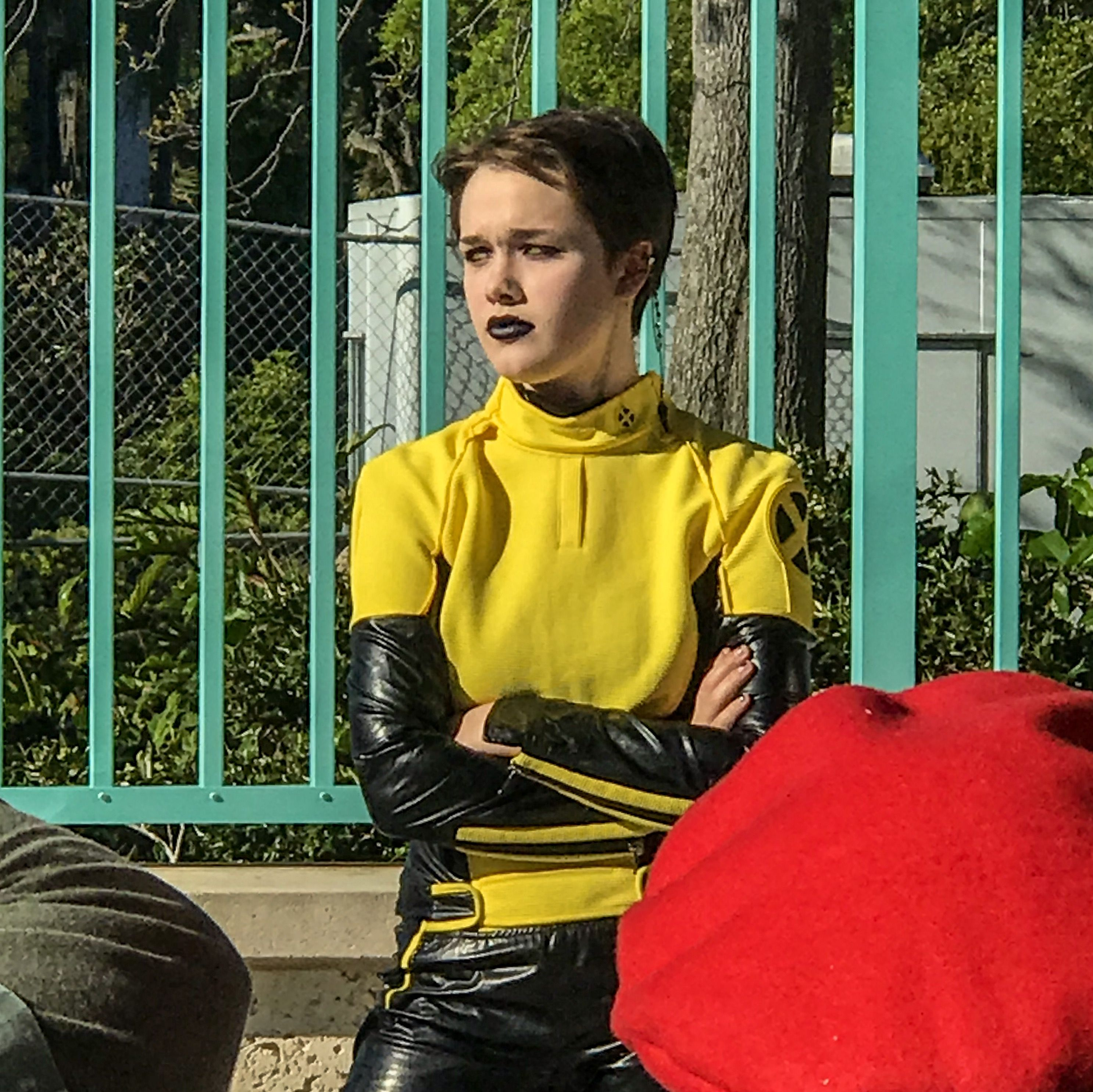 An amazing cosplay of Negasonic Teenage Warhead right here at Clearwater Comic Con 2018! # ...