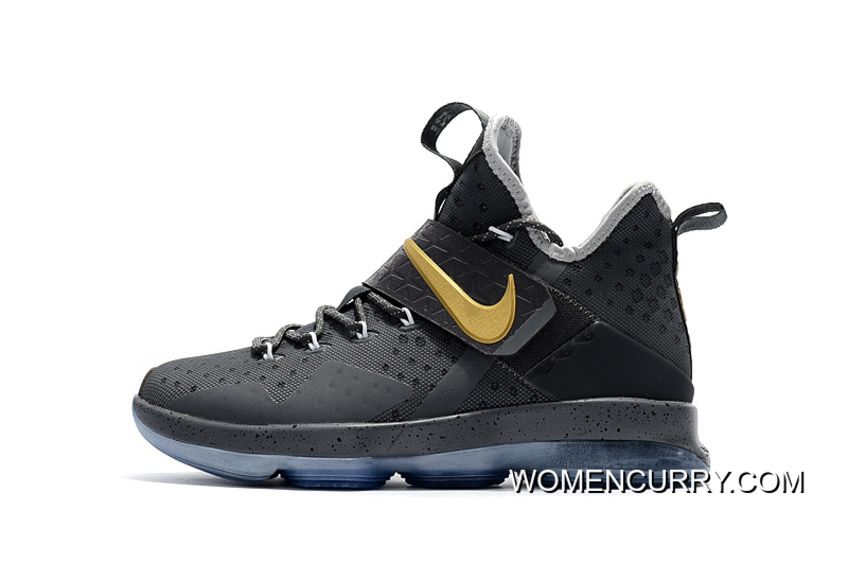 "sports shoes 359cd 98f57 Ring Night"" Nike LeBron 14 PE Grey Cement Discount ..."