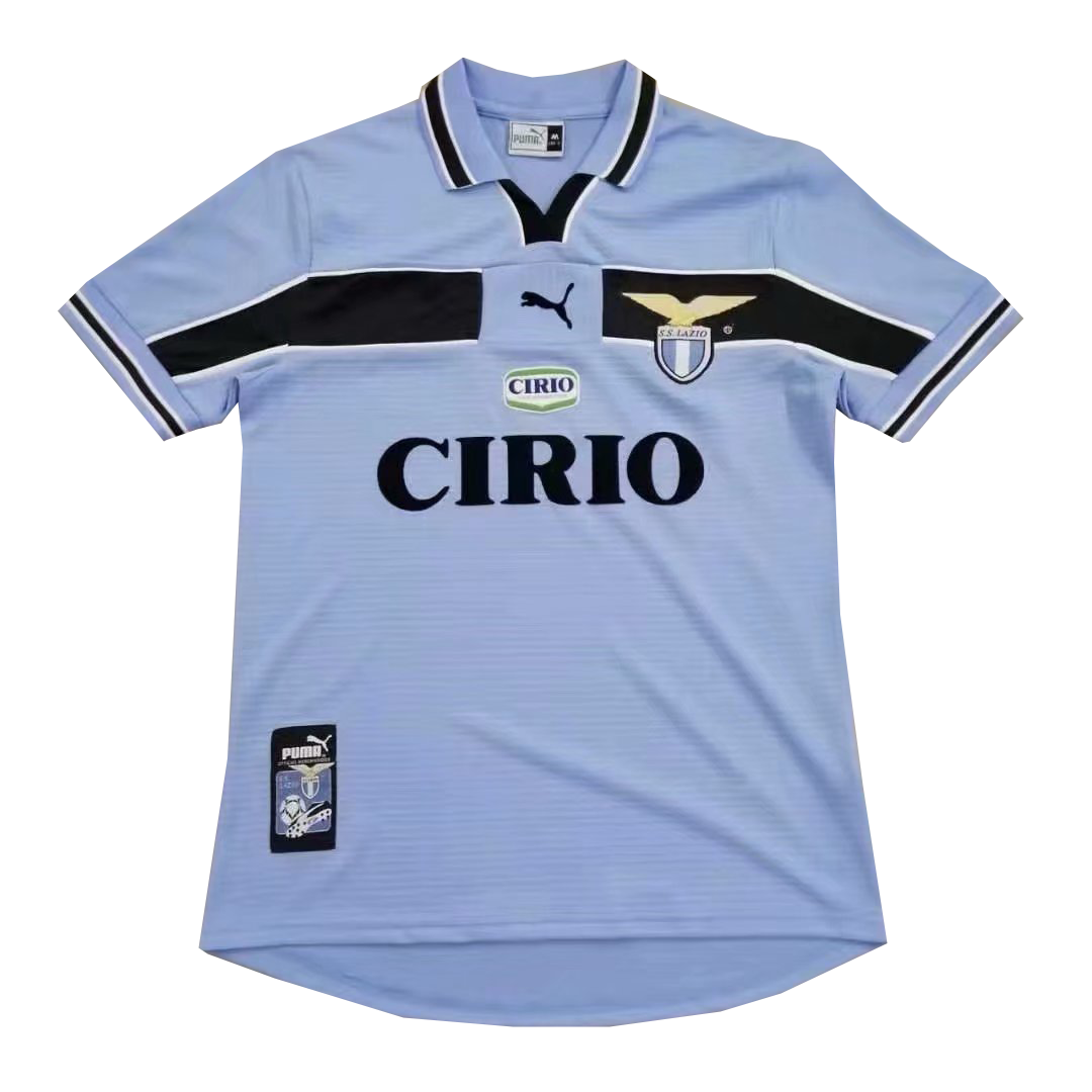 1998 1999 Lazio Home Retro Soccer Jersey Shirt Football Shirt Designs Jersey Shirt Soccer Jersey