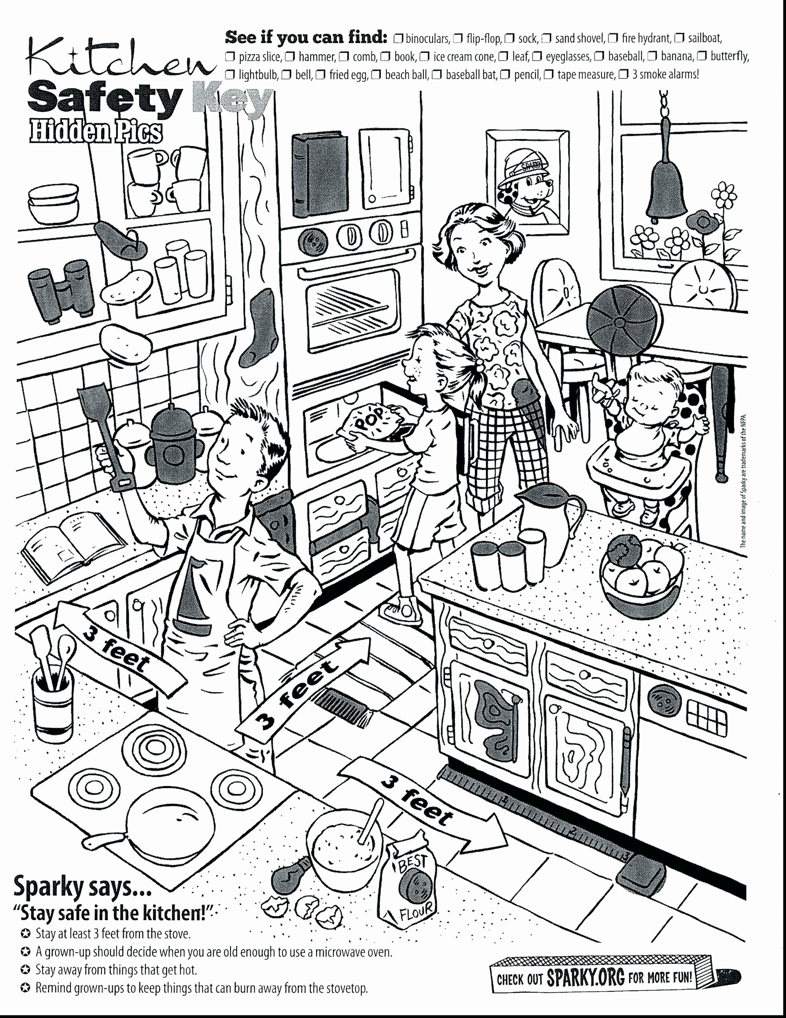 Pizza Slice Coloring Pages