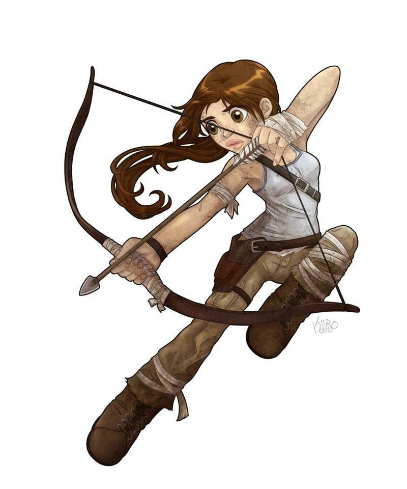 Lara Croft deviantART