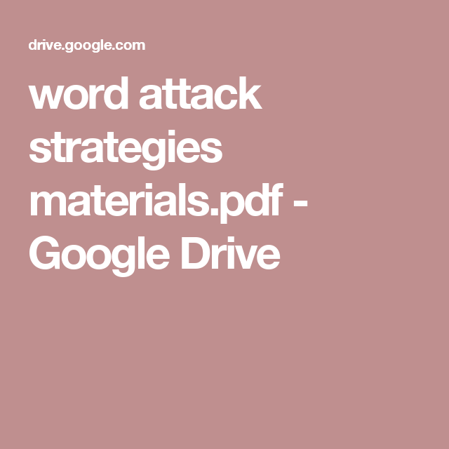 Drive By Attack Pdf