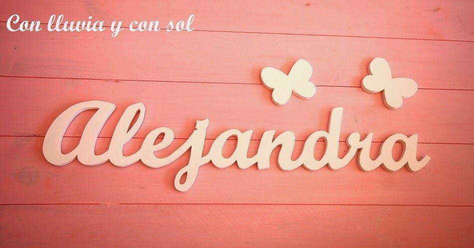 Decoracion en madera para bodas y para ni os letrero - Letras decorativas para ninos ...