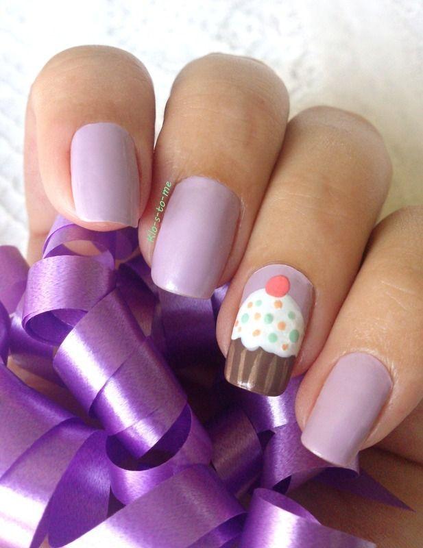 Nailpolis Museum of Nail Art   Cupcake nails by klo-s-to-me https ...