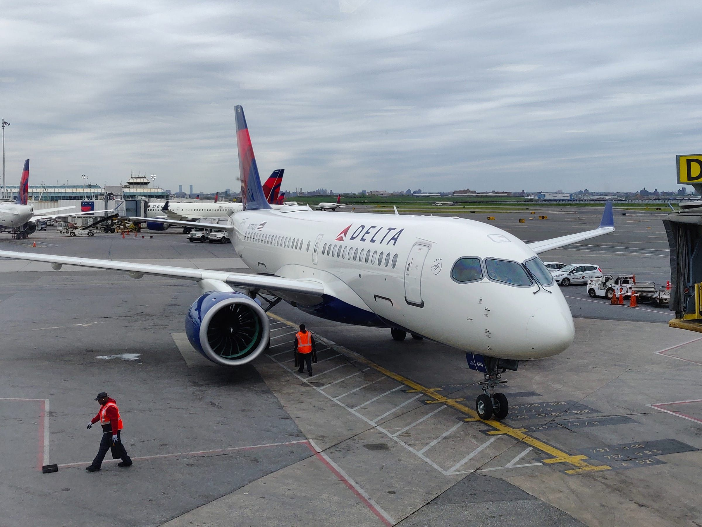 I flew firstclass in Delta's yearold A220 the plane