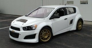 The Newest Global Rallycross Car Is A Chevy Sonic Chevy