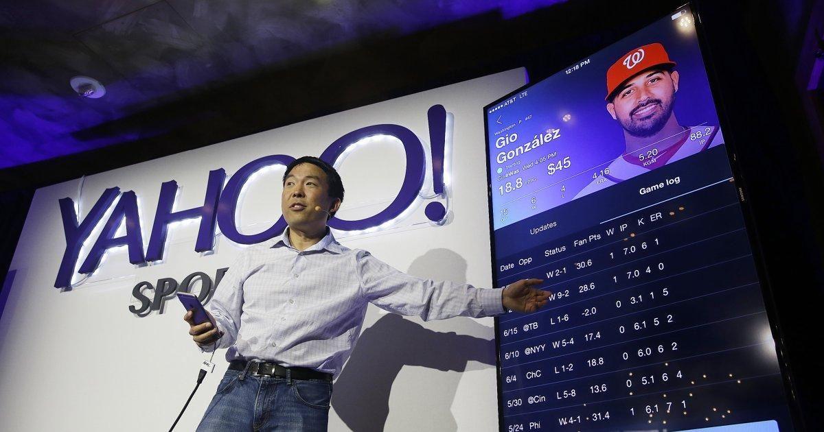 Yahoo joins DraftKings, FanDuel in halting N.Y. fantasy