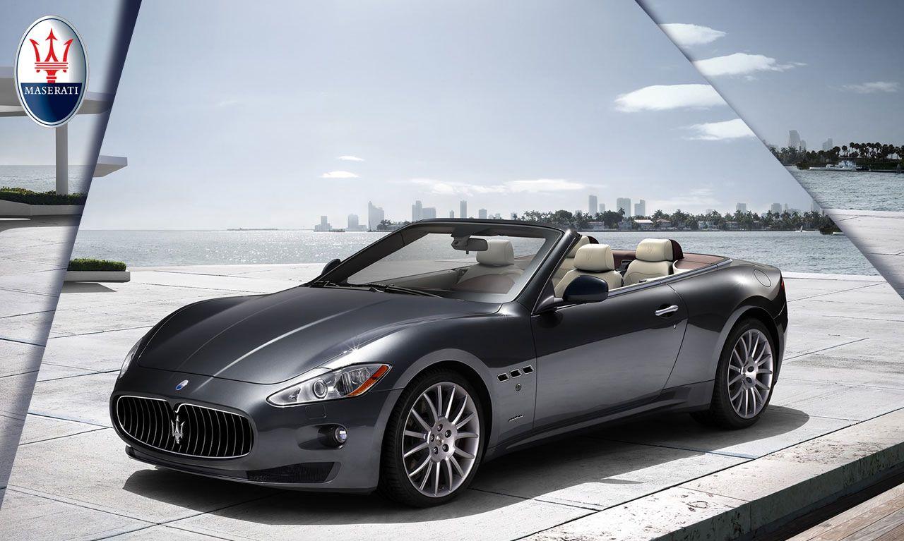 Maserati GranTurismo Convertible Exclusive Fourseat