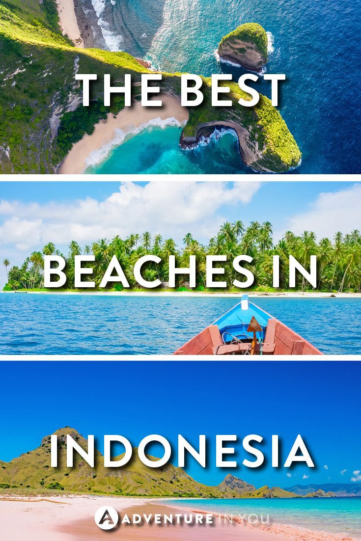 Indonesia Beaches | Looking for the best beaches and island in Indonesia? Here are a few of our top picks which we can't stop looking at!: