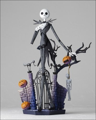 Jack Skellington paper mache inspiration