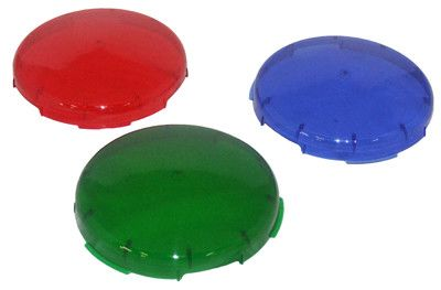 Lens Cover,Colored (Set Of 3)