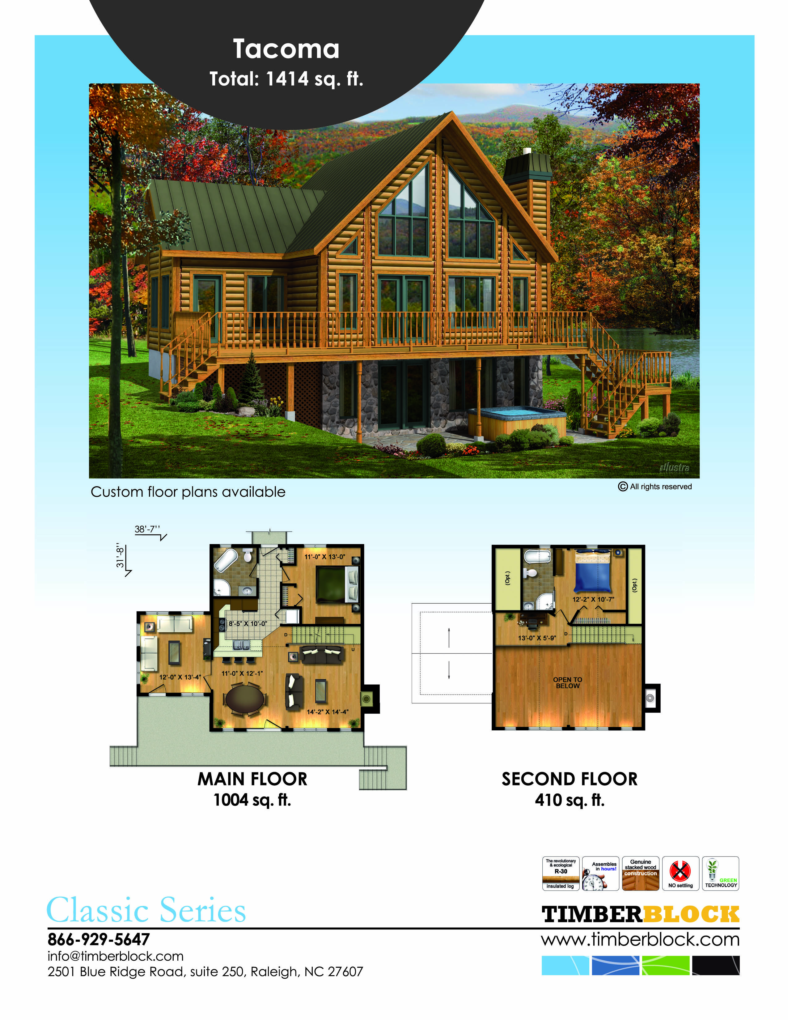 Pin By Timber Block On Floor Plans Timber Block Engineered Wood Homes Lake House Plans Log Cabin Plans Cabin Plans
