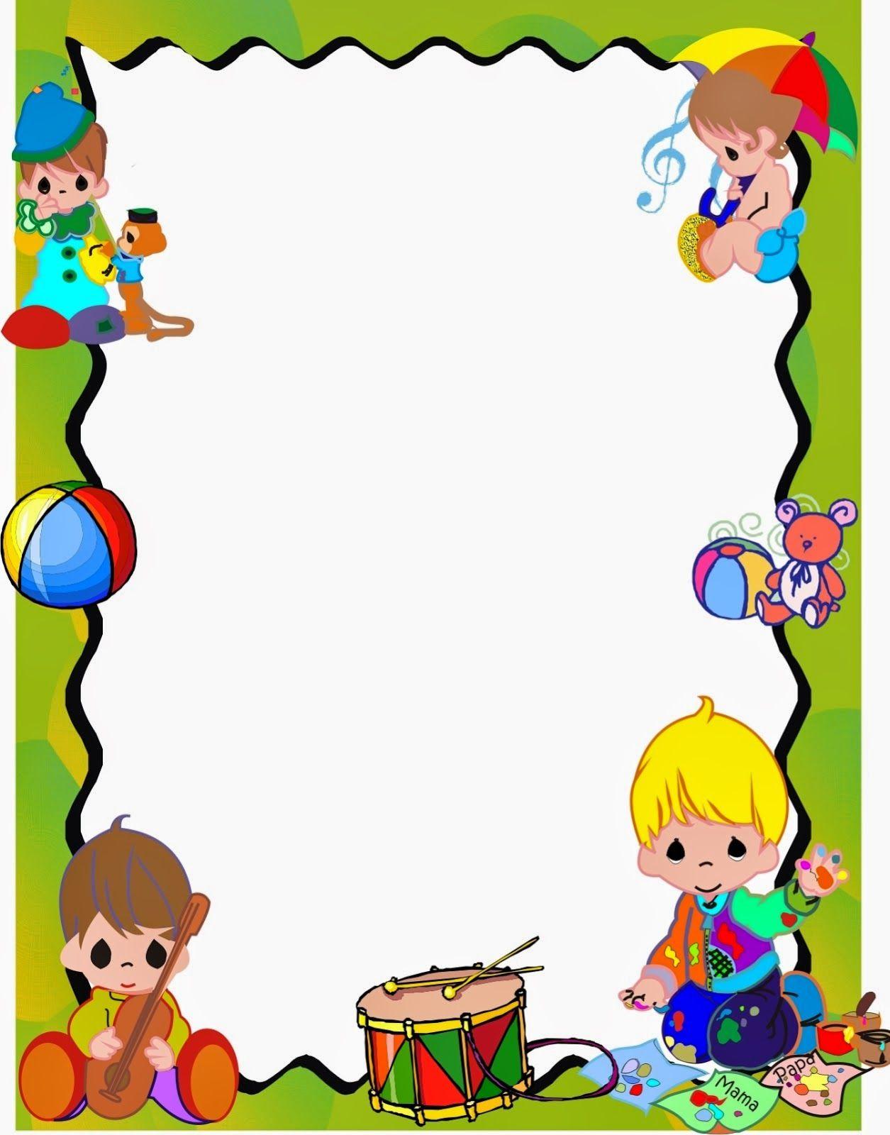 Caratulas niños y niñas kinder | marcos | Pinterest | Niños de ...
