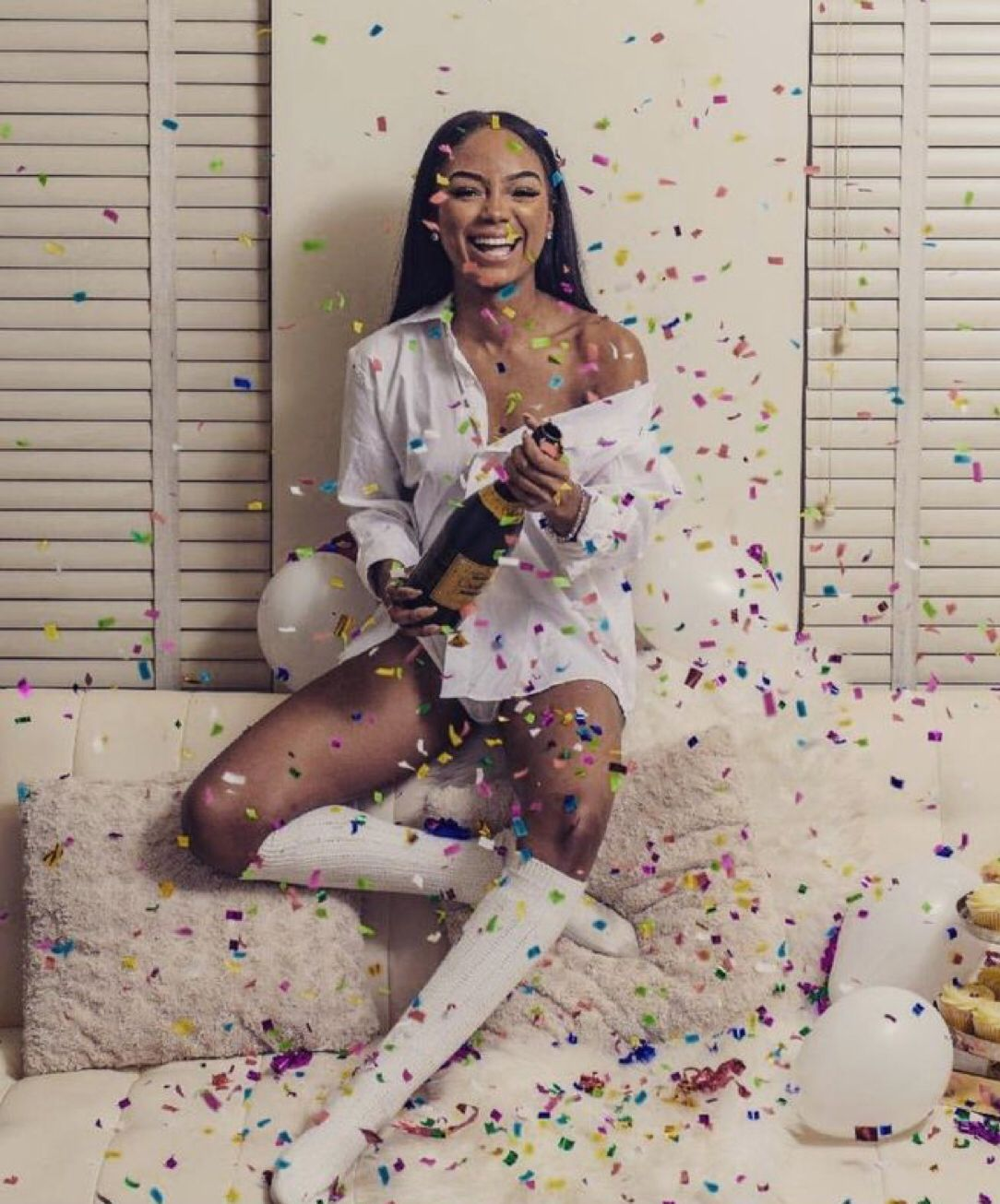 pin ' kjvougee 💜 21st birthday photoshoot, Birthday