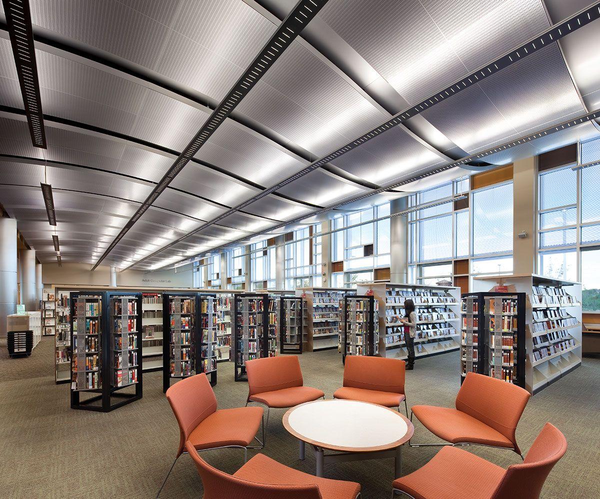 Ceilings Plus. Centennial Hills Library • Design JMA