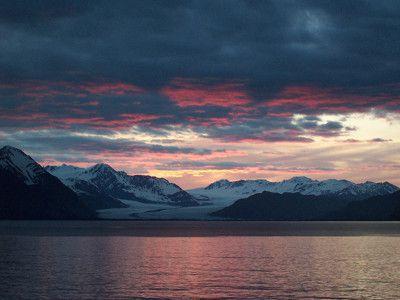 Glacier Sunset