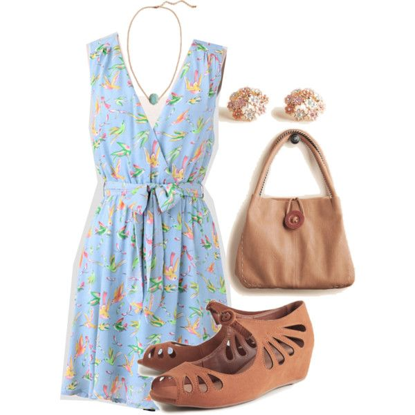 Spring Fashion Set by livalot12 on Polyvore featuring Forever 21