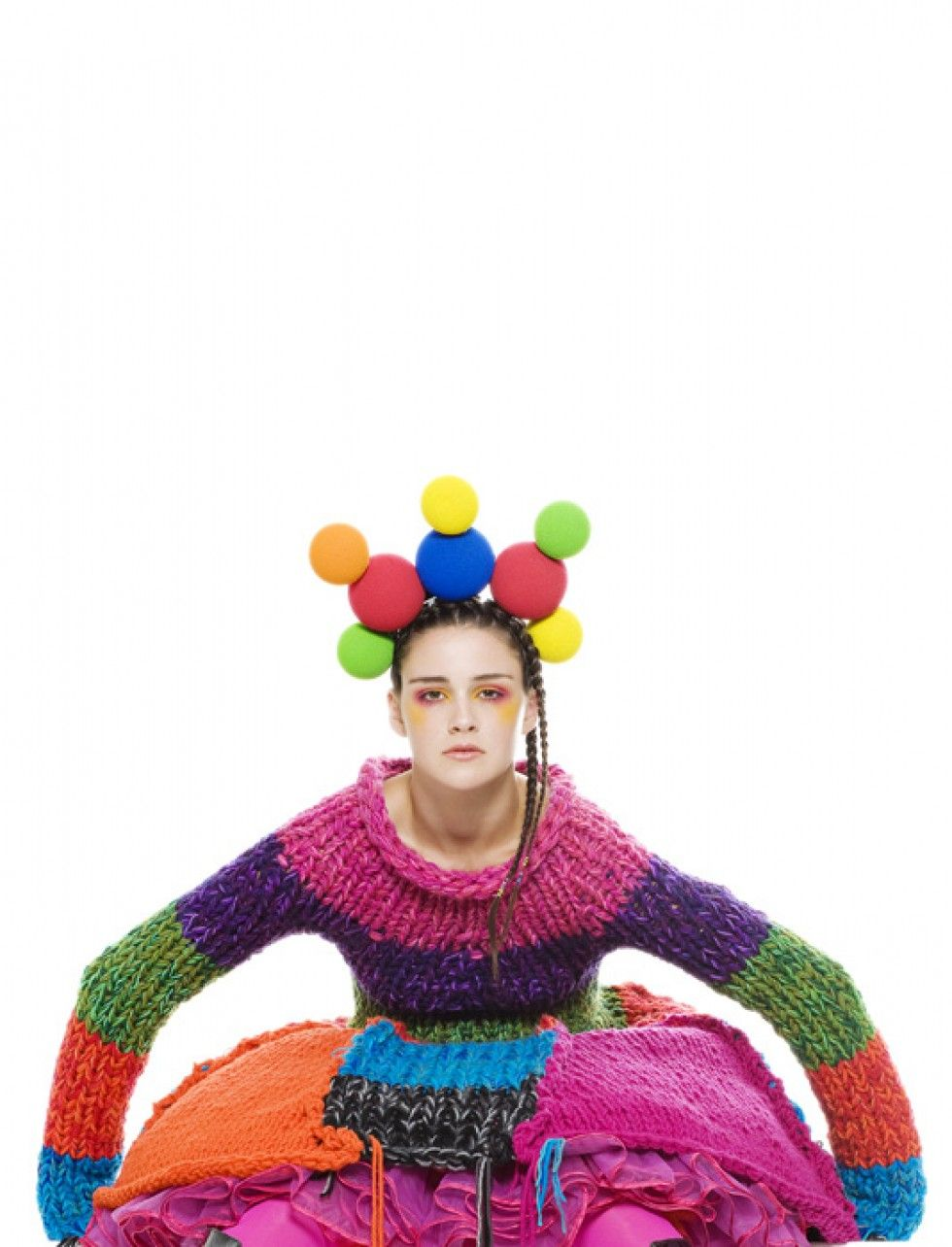 knitGrandeur®: On the Bright Side-Fool Clothing, L'Oreal Paris Runway F/W 2009