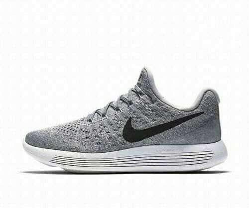 bf00c32866d Nike Lunarepic Low Flyknit 2 Womens Running Shoes 10 Wolf Grey Black   Platinum  RunningShoes