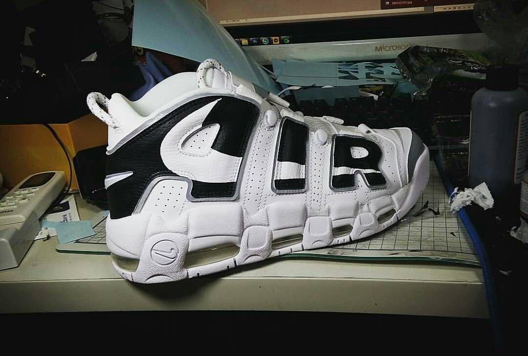 promo code 41bcc d88ae Fashion Shoes · London · FINISHED  amp  READY TO SHIP PAINTED UPTEMPO NIKE  CUSTOMIZED KICKS 🎨🎨🎨🎨🎨