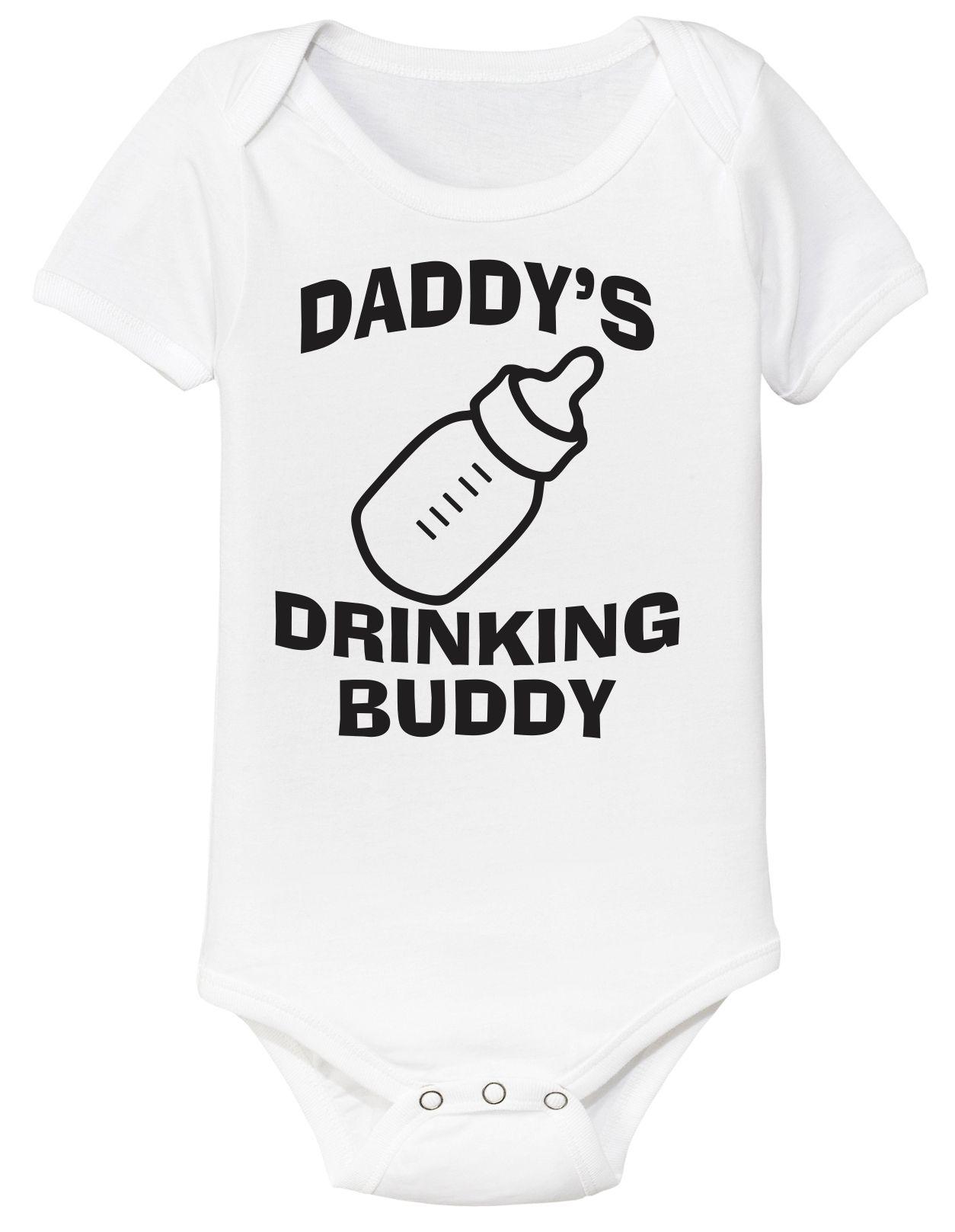 Daddy/'s Drinking Buddy Onesie