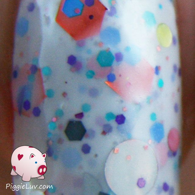 Piggieluv Freehand Stairway To Heaven Nail Art: Naild'it Unique Nail Polish Swatches & Review