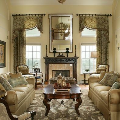 10 Traditional living room décor ideas | Window treatments ...