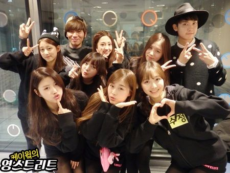 [Lovelyz] 141203 K.Will's YoungStreet Radio (11p)