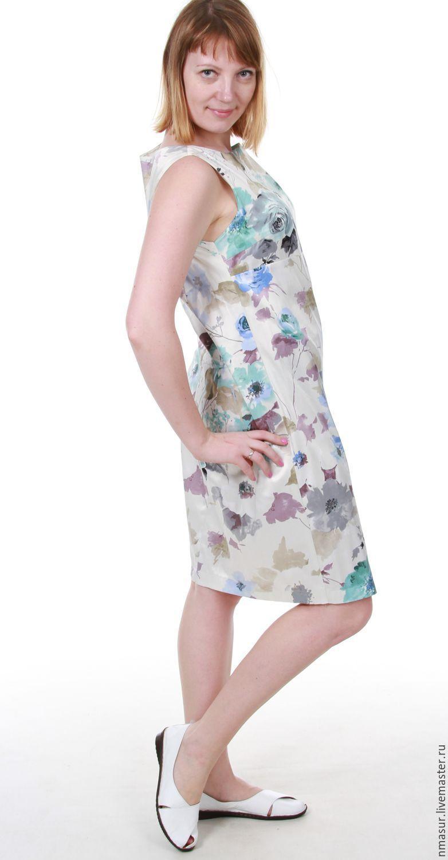 Платье летнее своими руками нарядное фото 24