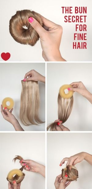 Creating The Perfect Bun With Your Hair Extensions Making Your Bun