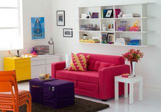 Decoração: Sala Colorida by Jessica Santin (Jehhhhh), via Flickr