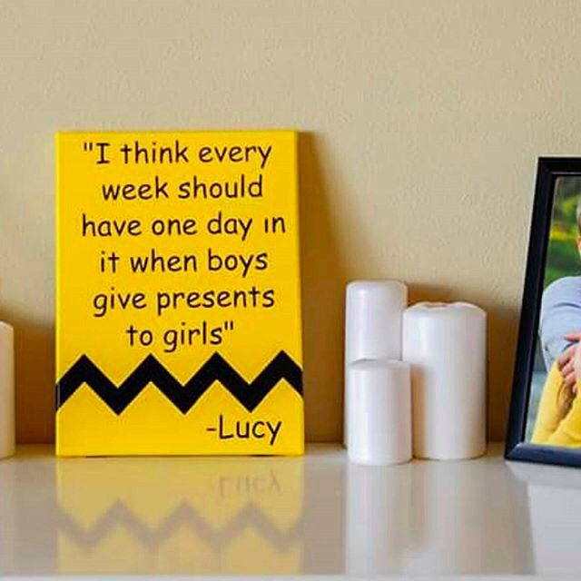 I couldn't agree with this sign from @nicolettescreations more. Lucy always knows what's going on! ;) #etsy #nicolettescreations #charliebrown #lucy #wallart #handmade #homedecor #ourbestfinds by ourbestfinds