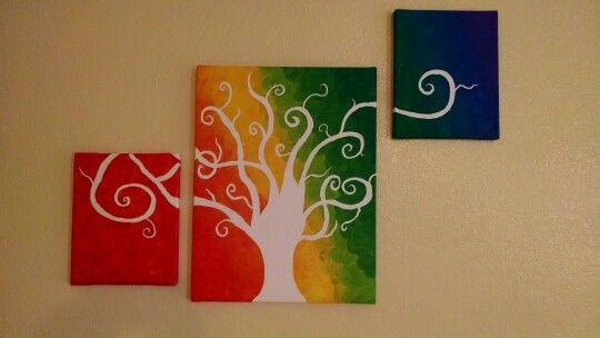 Tree of life. Acrylic