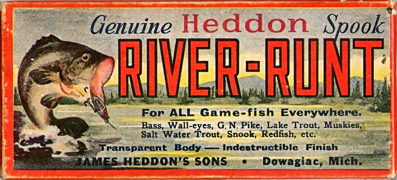 heddon river runt spook - Recherche Google