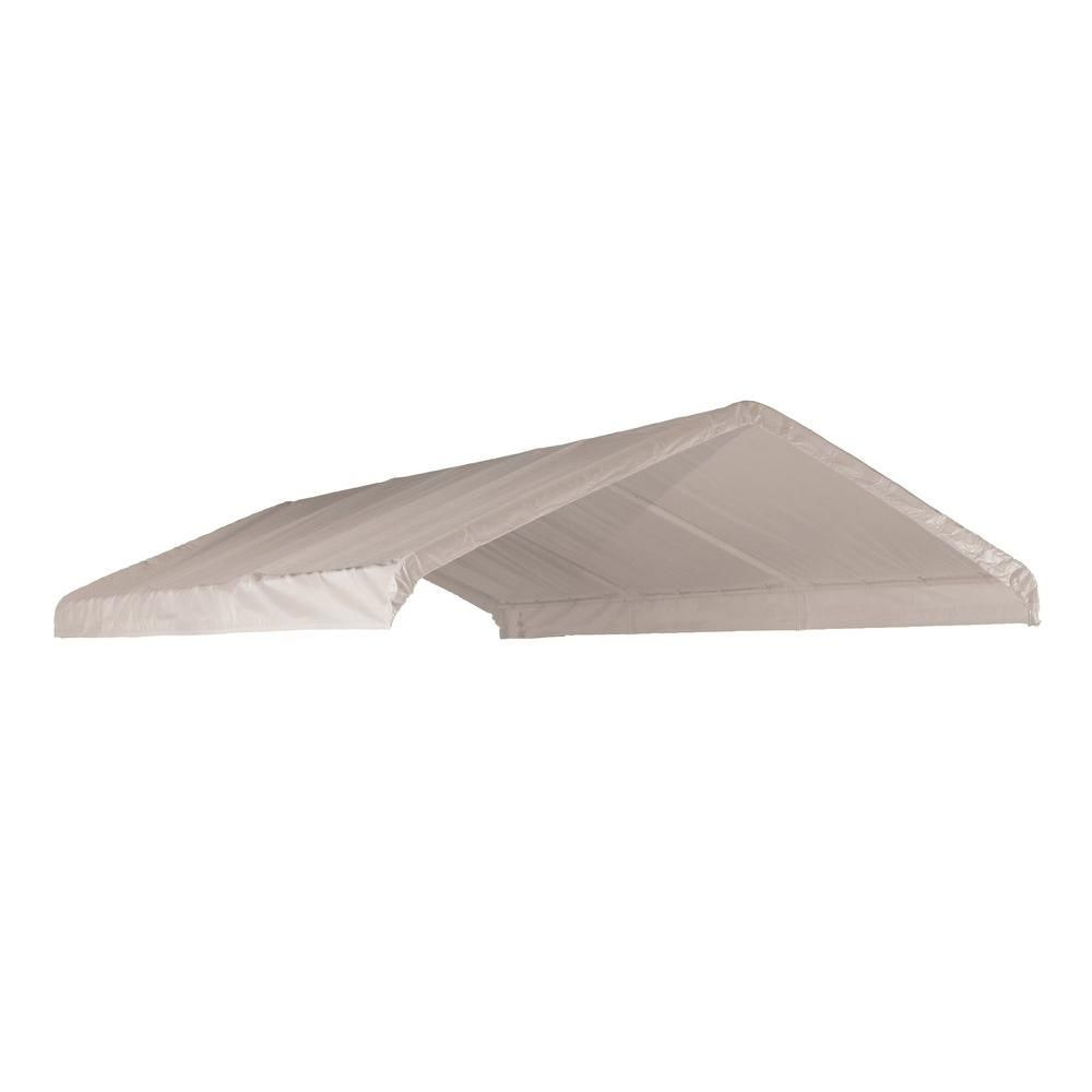 Shelterlogic super max x replacement canopy cover white tents and tarps canopy car ports at academy sports