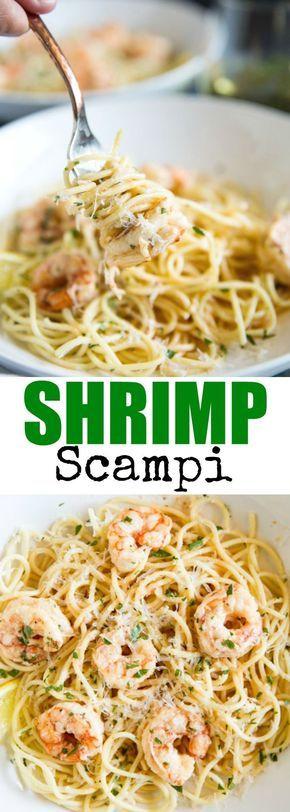 Shrimp Scampi #shrimpscampi