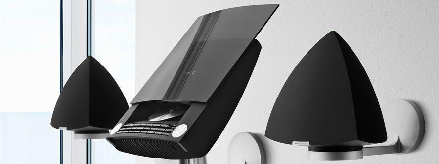 chaine hi fi mini avec station d 39 accueil pour iphone beosound 4 by davis lewis bang olufsen. Black Bedroom Furniture Sets. Home Design Ideas
